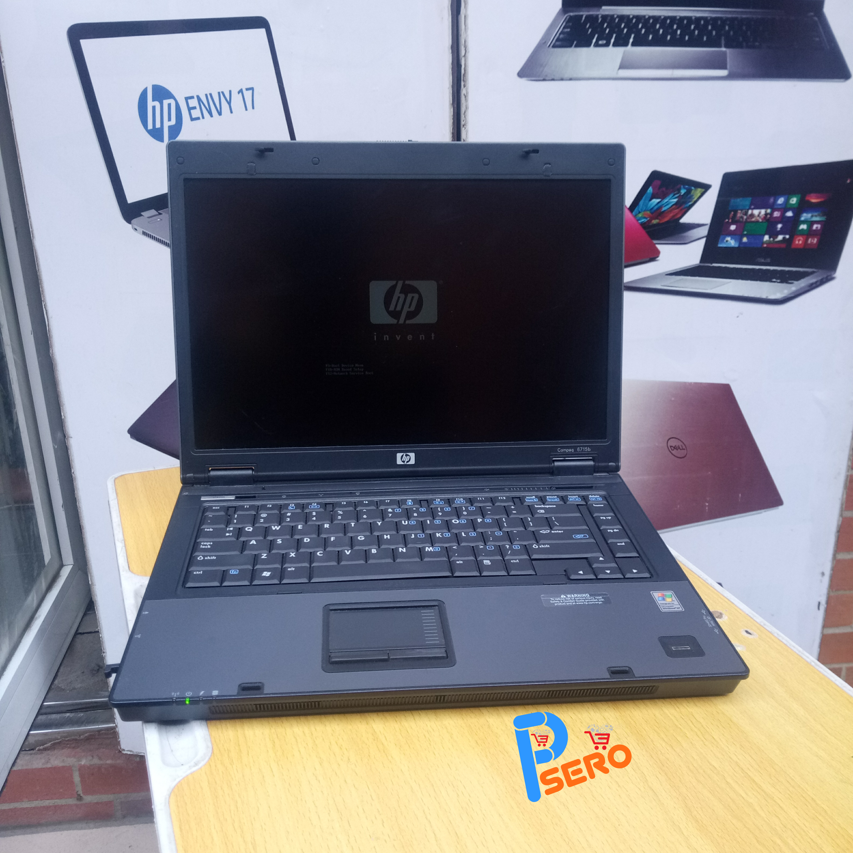 Uk Used: Hp Compaq 6715b with 3gb/80hdd